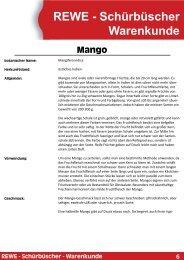 Mango - REWE Beckum