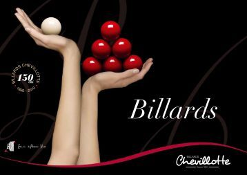 Catalogue Billards Chevillotte - Decofinder