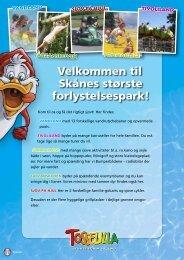 Velkommen til Skånes største forlystelsespark! - Tosselilla