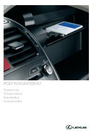 iPOd® iNtEgrAtiON kit - Toyota-tech.eu