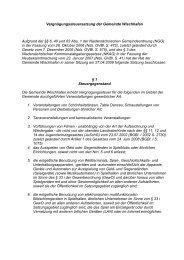 Vergnügungssteuersatzung der Gemeinde Wischhafen Aufgrund ...