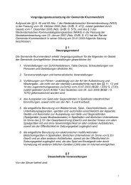 1 Vergnügungssteuersatzung der Gemeinde Krummendeich ...