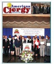 American Clergy News Volume 3 Issue 4 - True Parents Organization