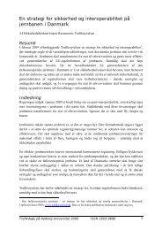En strategi for sikkerhed og interoperabilitet på ... - Trafikstyrelsen