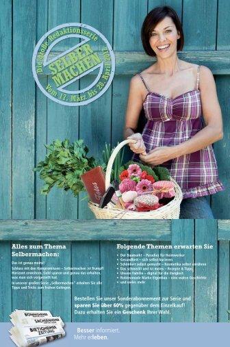 Alles zum Thema Selbermachen: Folgende ... - Bietigheimer Zeitung