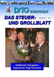 Staffelstab übergeben: Eigenthaler folgt Ondracek - Dstg-Berlin