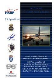 Sjöflyg - Transportstyrelsen