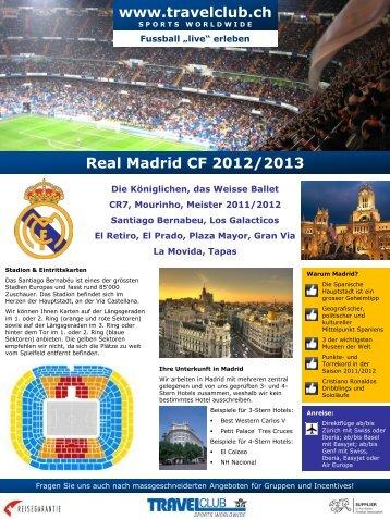 Real Madrid CF 2012/2013 - TRAVELclub
