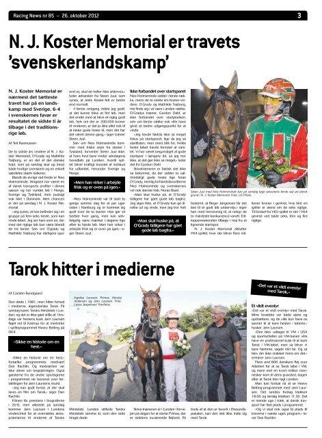 Racing News nr 85