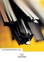 Miljörapport 2001 - Trelleborg