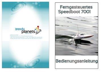 RC Speedboot - Trendy Planets