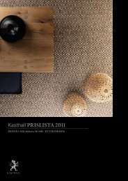 Kasthall prislista 2011
