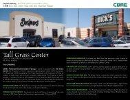 Tall Grass Center - CBRE Marketplace