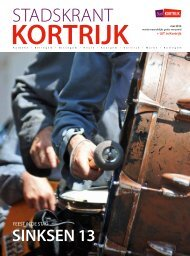 Stadskrant mei 2013 - Stad Kortrijk