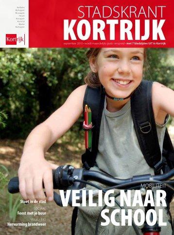 Stadskrant september 2010 - Stad Kortrijk