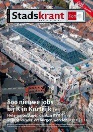 Stadskrant december 2009 - Stad Kortrijk