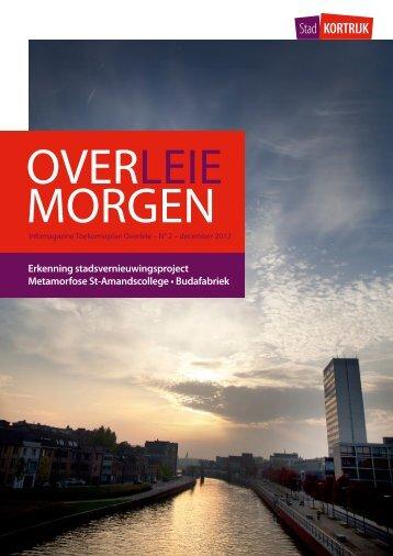 Overleie Morgen N°2 December 2012 - Stad Kortrijk