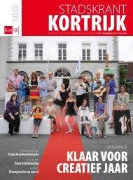 Stadskrant september 2011 - Stad Kortrijk