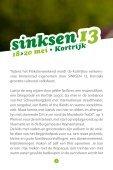 programmabrochure van Sinksen - Stad Kortrijk - Page 2
