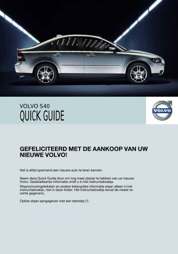 QUICK GUIDE - ESD - Volvo