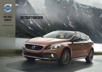 Instruktionsbok - ESD - Volvo