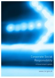 Corporate Social Responsibility - A Government ... - DTI Home Page