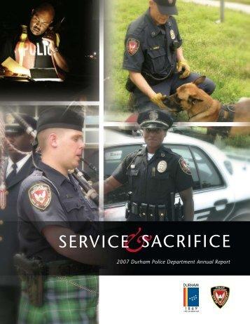 service sacrifice - City of Durham