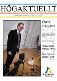 Hogaktuellt_2010-03. - Högskolan i Gävle