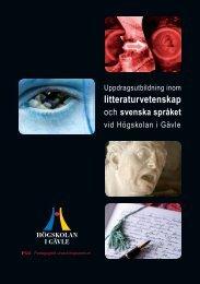 litteraturvetenskap - Högskolan i Gävle