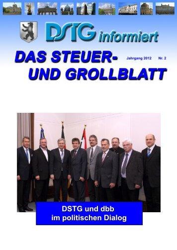 DSTG und dbb im politischen Dialog - Dstg-Berlin