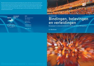 Download Bindingen, belevingen en verleidingen - Nhtv