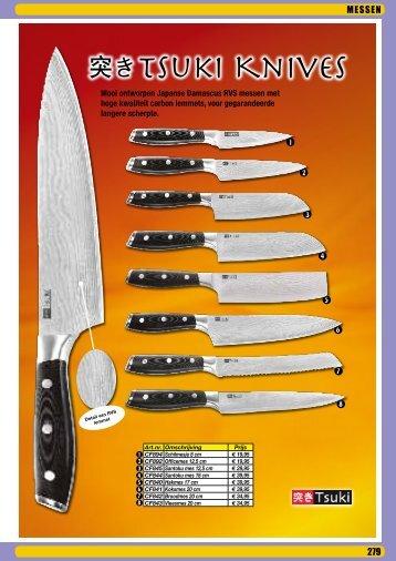 Tsuki Knives
