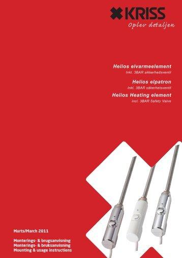 Helios Heating element - Kriss AS
