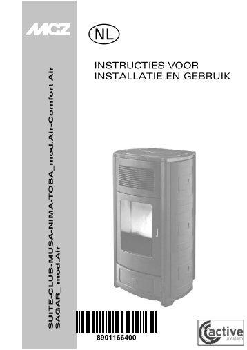 INSTRUCTIES VOOR INSTALLATIE EN GEBRUIK - MCZ