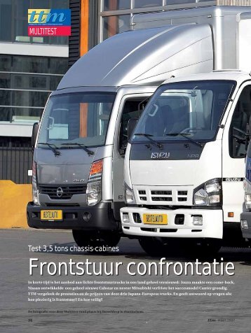Test 3,5 tons chassis-cabines - TTM.nl