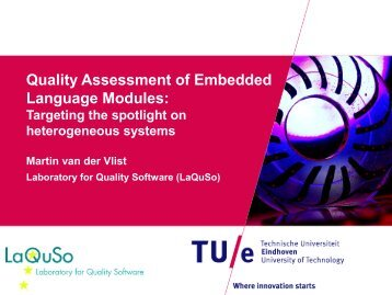 Quality Assessment of Embedded Language Modules: Targeting the ...