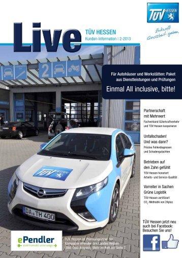 Ausgabe 02/2013 als PDF zum Download [2,3 MB] - TÜV Hessen