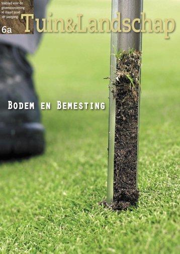 T&L Themanummer 'Bodem en Bemesting' 6a ... - Tuin & Landschap