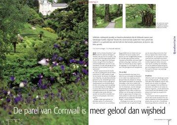T&L De parel van Cornwall is meer geloof dan ... - Tuin & Landschap