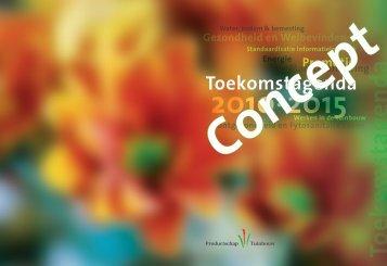 conceptversie van de Toekomstagenda - Tuin & Landschap