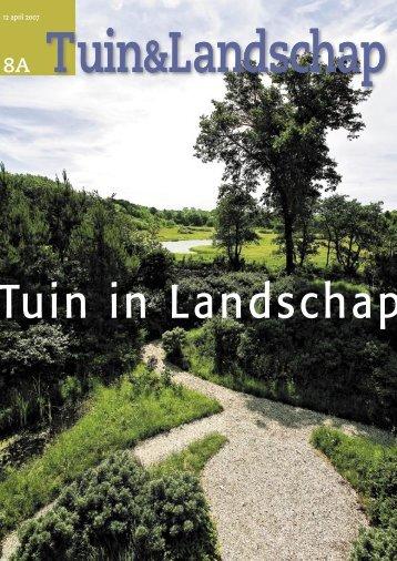 T&L Thema: Tuin in landschap 8a/2007 - Tuin & Landschap