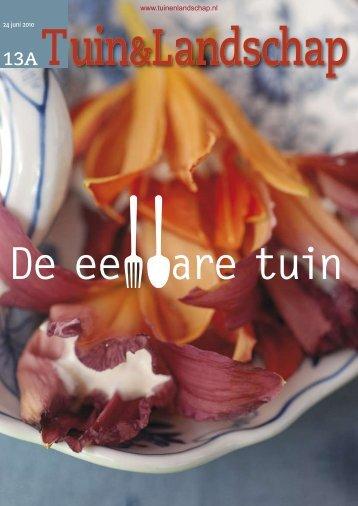 T&L Thema: De eetbare tuin 13a/2010 - Tuin & Landschap
