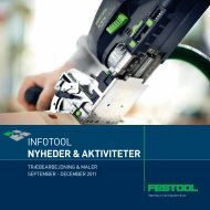 INFOTOOL NYHEDER & AKTIVITETER - Festool