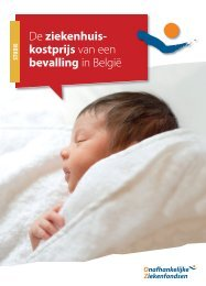 De ziekenhuis- kostprijs van een bevalling in België