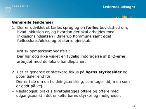 Inklusion - et fælles ansvar v/Dorrit Christensen