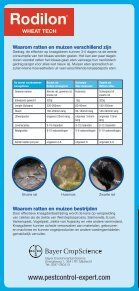 Rodilon® Wheat Tech - Bayer Pestcontrol Expert - Page 6