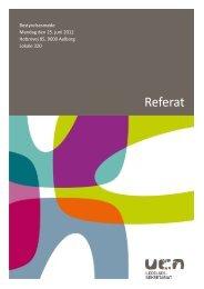 Referat Bestyrelsesmøde 25--2012 - University College Nordjylland