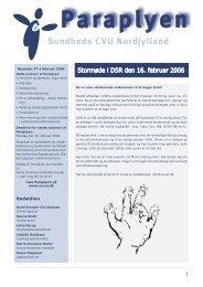 Paraplyen (nr. 27/2006) (pdf) - University College Nordjylland