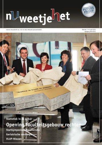 Opening faculteitsgebouw rechten - UHasselt