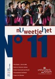 2007 2008 N°11 12 juni 2008 - UHasselt
